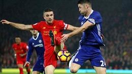 Vòng 34 Ngoại hạng Anh: 'Đại chiến' Liverpool và Chelsea