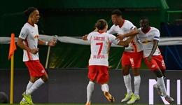 Tạo 'cú sốc' lớn trước Atletico Madrid, RB Leipzig làm nên lịch sử