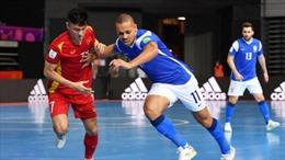 Tuyển Việt Nam thua 1 - 9 trước Brazil ở trận ra quân Futsal World Cup 2021