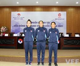 Bóng đá Việt Nam hứa hẹn lần đầu tiên có tới 3 nữ trọng tài tại giải chuyên nghiệp