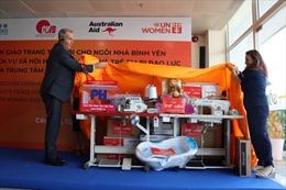 UN Women hỗ trợ phụ nữ và trẻ em là nạn nhân của bạo lực giới