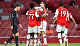 'Trắng tay' rời Emirates, Liverpool hết cơ hội phá kỷ lục của Man City