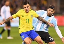 Giao hữu bóng đá: Đại chiến Brazil - Argentina