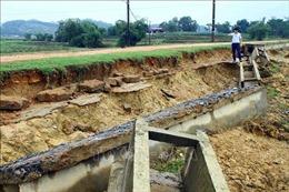 Cải tạo công trình thủy lợi, đảm bảo sản xuất sau bão lũ