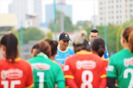 Đội tuyển nữ Việt Nam hướng tới mục tiêu cạnh tranh suất tham dự vòng chung kết World Cup nữ 2023