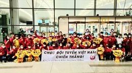 Hình ảnh Đoàn Thể thao Việt Nam bắt đầu hành trình tham dự Olympic Tokyo 2020