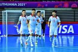 Những kịch bản để đội tuyển futsal Việt Nam vào vòng 1/8 ở World Cup 2021