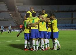 Đánh bại chủ nhà Uruguay, Brazil thăng hoa tại vòng loại World Cup 2022