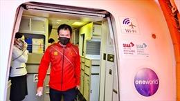 Đoàn Thể thao Việt Nam đến Tokyo, được xét nghiệm COVID-19 và cài đặt ứng dụng theo dõi sức khỏe