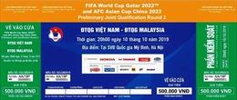 Vé xem trận Việt Nam-Malaysia được mở bán online