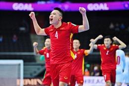 Tuyển Việt Nam gặp tuyển Nga ở vòng 1/8 FIFA Futsal World Cup 2021
