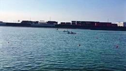 Sáng 20/7, các vận động viên bơi, rowing, cầu lông tăng tốc tập luyện