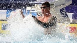 Kình ngư 'vàng' của bơi lội Anh suýt mất kỷ lục thế giới vì đồng hồ tính sai giờ