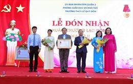 Trường THCS Lê Quý Đôn TP Hồ Chí Minh đón nhận Huân chương Lao động hạng II