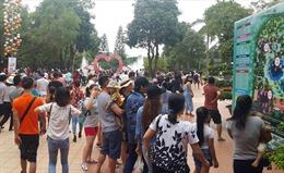 Nhiều điểm vui chơi, giải trí tại Hà Nội quá tải dịp nghỉ lễ Quốc khánh 2/9