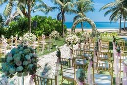 Choáng ngợp trước thiên đường lễ cưới đẳng cấp hàng đầu Châu Á