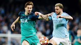 Vòng 35 Ngoại hạng Anh giữa Man City - Tottenham: Trả món nợ Champions League