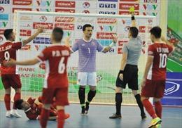 Tuyển futsal Việt Nam dừng bước tại bán kết trước đương kim vô địch Thái Lan