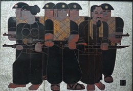 Triển lãm những tác phẩm mỹ thuật về QĐND Việt Nam