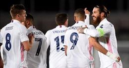 Real Madrid đã biết đến chiến thắng đầu tiên tại Champions League 2020 - 2021