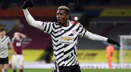 Pogba tỏa sáng, Manchester United lên đỉnh bảng xếp hạng Ngoại hạng Anh sau 8 năm