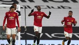 Nối dài chiến thắng sân khách, Man United trở lại vị trí số 1