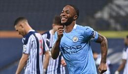 'Vùi dập' West Brom, Man City lên đỉnh bảng xếp hạng Ngoại hạng Anh