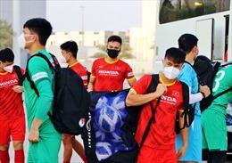 Điều chuyển 2 cầu thủ trẻ, đội tuyển Việt Nam rời UAE đi Oman