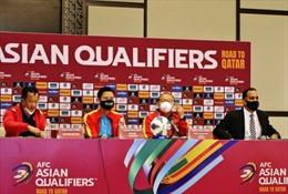 Đội tuyển Việt Nam vượt áp lực, hướng đến trận đấu với Oman với quyết tâm cao nhất