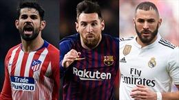 Hình thành thế chân vạc ở cuộc đua vô địch La Liga