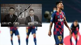 Barcelona sẵn sàng cho kỷ nguyên không Messi