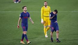 Atletico lấy lại ngôi đầu bảng xếp hạng La Liga