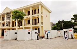 Triển khai bệnh viện dã chiến số 3 tại Bệnh viện Y học cổ truyền tỉnh Bắc Giang
