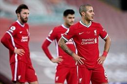 Gục ngã tại Anfield trước Everton, Liverpool giương cờ trắng trong cuộc đua vô địch
