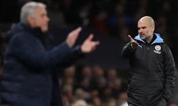 Tottenham - Man City: Mourinho luận anh hùng cùng Pep Guardiola