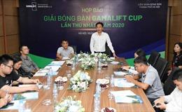 200 vận động viên dự Giải bóng bàn tranh Cúp GamaLift