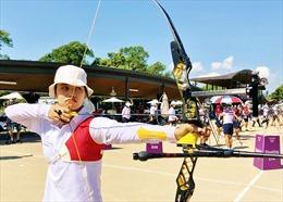 Cung thủ Ánh Nguyệt đối đầu vận động viên nước chủ nhà ở vòng loại trực tiếp