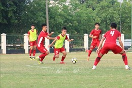 Tin vui từ tình hình sức khoẻ của các cầu thủ đội U19 Việt Nam