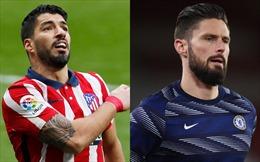 Vòng 1/8 Champions League 2020 - 2021: Tâm điểm Atletico Madrid - Chelsea
