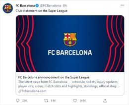 Barcelona sẽ tham gia Super League