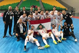 Đối thủ của tuyển futsal Việt Nam- tuyển futsal Lebanon, mạnh cỡ nào?