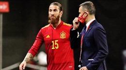 Sergio Ramos thừa nhận mình không đủ thể lực tham dự EURO 2020