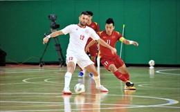 Cầm chân tuyển futsal Lebanon 0 - 0, tuyển Việt Nam nắm lợi thế trước trận lượt về