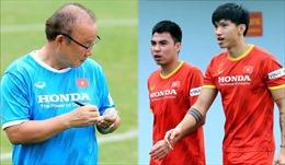 Thiếu Văn Hậu và Minh Vương, HLV Park Hang-seo tính gì cho vòng loại cuối FIFA World Cup 2022?