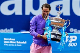 Nadal lập kỷ lục về số lần đăng quang tại Barcelona mở rộng