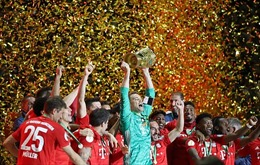 Vùi dập Leipzig 3-0, Bayern hoàn tất cú đúp danh hiệu vô địch quốc nội