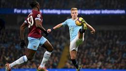 Manchester City - West Ham: 'Búa tạ' làm sao có thể cản nổi The Citizens?