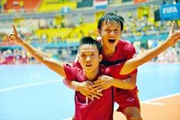 Đội tuyển futsal Việt Nam quyết tâm tái lập thành công của FIFA Futsal World Cup 2016