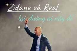 Zidane và Real lại 'đường ai nấy đi'