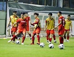 Cận cảnh ngày đầu đội tuyển Việt Nam tại Saudi Arabia